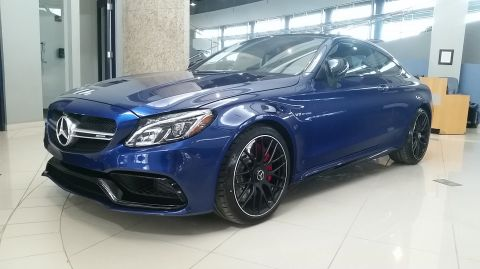 2018 Mercedes-Benz C-Class C 63 S AMG® Coupe