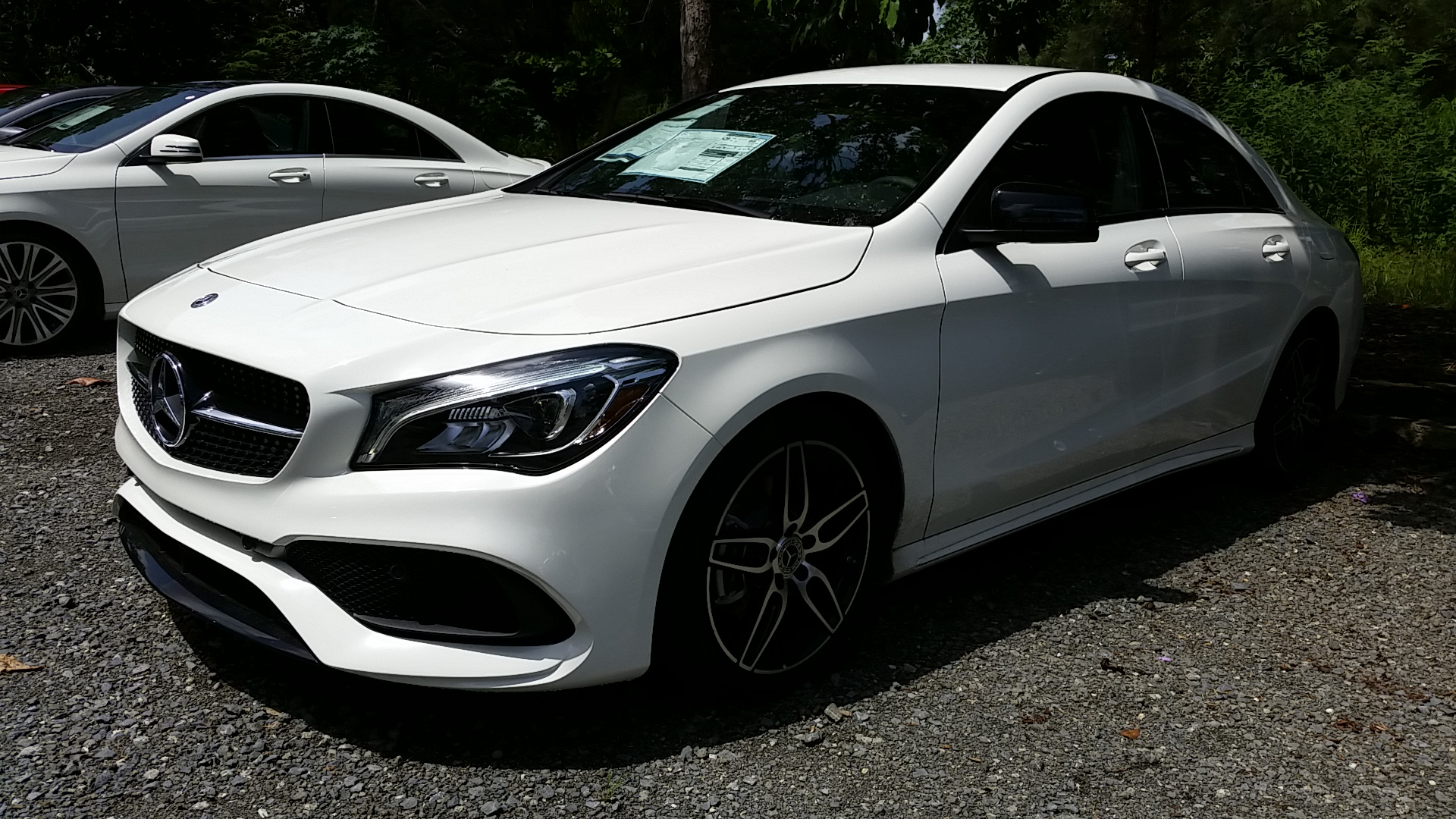 New 2018 mercedes benz cla cla 250 coupe in carolina for Mercedes benz cla 2018 price